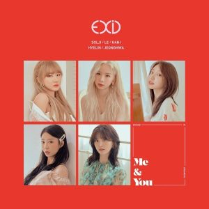 WE / EXID Album Cover