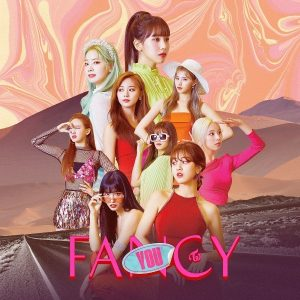 FANCY / TWICE Album Cover
