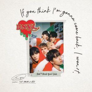 Don't Need Your Love / NCT DREAM & HRVY Album Cover