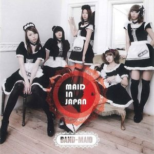 FORWARD / BAND-MAID Album Cover