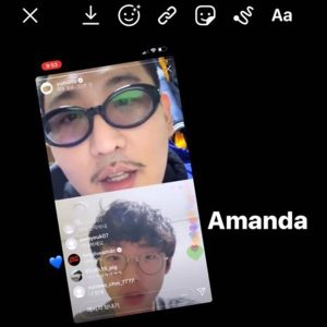 Amanda (feat. Simon Dominic) / YUMDDA Album Cover