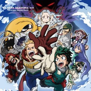 MY HERO ACADEMIA 4th ORIGINAL SOUNDTRACK