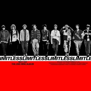 NCT #127 LIMITLESS / NCT 127 Album Cover