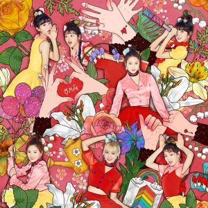 COLORING BOOK / OH MY GIRL Album Cover