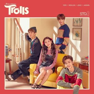 DreamWorks Trolls X SM STATION / YERI & NCT Album Cover