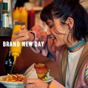 BRAND NEW DAY / Anly Album Cover