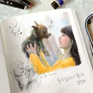 The two of us / Kang Min Hee